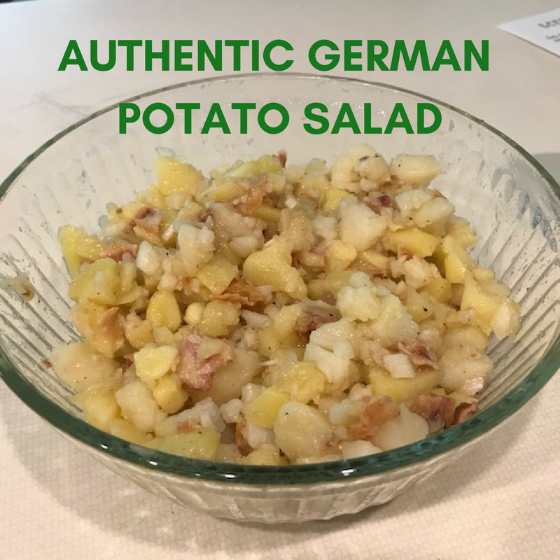 A Legacy Of Food Authentic German Potato Salad An Organized After Life